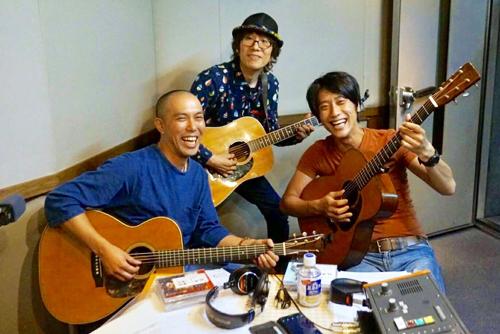 「坂崎さんの番組」という番組にキッサコ ゲスト出演!
